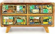 Divero Vintage Sideboard Wäscheschrank Anrichte