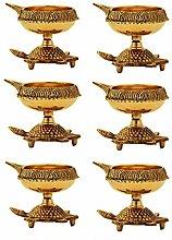 Diwali Diya Öllampe, indische Pooja-Öllampe, 100