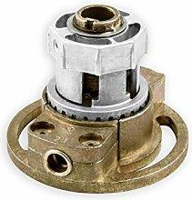 DIWARO® K005 Rolladengetriebe | Untersetzung 2:1 | für rechts & links | Antrieb 6mm Innenvierkant | Kurbelgetriebe, Kegelradgetriebe für SW 40 achtkant Stahlwelle im Rolladenkasten