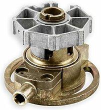 DIWARO® K055 Rolladengetriebe | Untersetzung 3:1 | für rechts & links |Kurbelgetriebe, Kegelradgetriebe für SW 60 Rolladen Stahlwelle im Rolladenkasten, Getriebe für beidseitige Verwendung geeignet.