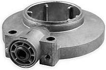 DIWARO® Kegelradgetriebe K076 | Untersetzung 8:1 | 8 mm vierkant | für 60 mm Nutwelle | Rolladengetriebe, Kurbelgetriebe