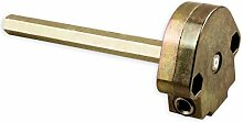 DIWARO® S041 Rolladengetriebe 4:1 rechts, Kurbelgetriebe, Kegelradgetriebe, Schneckengetriebe für Rolladen.