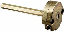 DIWARO® S043 Rolladengetriebe 6:1 rechts, Kurbelgetriebe, Kegelradgetriebe, Schneckengetriebe für Rolladen