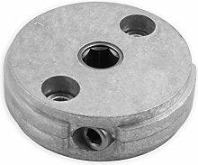 DIWARO® S056 Rolladengetriebe 4,33:1 Links, Kurbelgetriebe, Kegelradgetriebe, Schneckengetriebe für Rolladen Stahlwelle im Rolladenkasten …