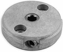 DIWARO® S058 Rolladengetriebe 4,33:1 Links, Kurbelgetriebe, Kegelradgetriebe, Schneckengetriebe für Rolladen Stahlwelle im Rolladenkasten …