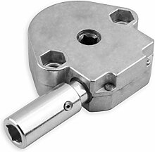 DIWARO® S069 Rolladengetriebe 4:1 Kurbelgetriebe, Kegelradgetriebe, Schneckengetriebe für Rolladen Stahlwelle im Rolladenkasten, Getriebe für beidseitige Verwendung geeignet …
