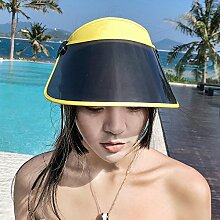 Dixinla Visor Hut PVC-Objektive Sonnenschutz