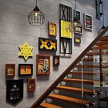 DIY 3D Puzzle Hirschkopf Wandbehang Dekor