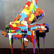 DIY 5D Diamant Klavier Malerei Stickerei
