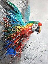 DIY 5D Diamant Vogel Malerei Stickerei Mehrfarbig