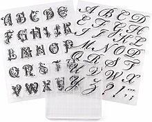 Diy Alphabet Ausstecher Embosser Stamp Sticky