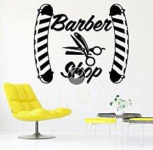 Diy Barber Shop Aufkleber Wasserdichte Vinyl