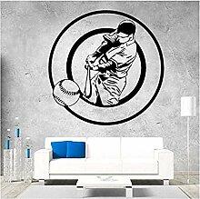 DIY Baseball Aufkleber Abnehmbare Kunst Vinyl
