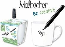 """DIY Becher """"Creativ"""" BECHER DIY CREATIV MIT STIFT 60055"""