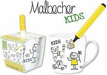 """DIY Becher """"Kids"""" BECHER DIY KIDS MIT STIFT 59495"""