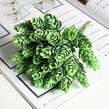 DIY Blume Künstliche Pflanze Ananas Grasblätter