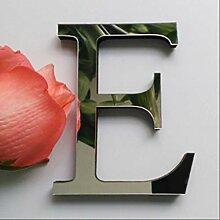 Diy Brief 3d Acryl Spiegel Wandpaste 26 Buchstaben