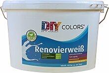 DIY Colors Renovierweiß 10l (Größe wählbar) -