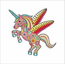 Diy Dekorativaufkleber Magical Unicorn Car Sticker