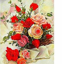 Diy Diamant Malerei Blumenverzierung Mosaik