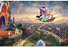 Diy diamant malerei comic figuren landschaft