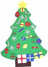 DIY Filz Weihnachtsbaum Anhänger Ornamente Tür