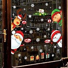 DIY Frohe Weihnachten Wandaufkleber Display