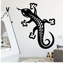 Diy Gecko Wandkunst Aufkleber Wandkunst Aufkleber
