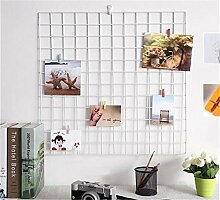 DIY Gitter Foto Wand, multifunktionale Wand