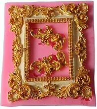 DIY handgefertigt Vintage geschnitzt Spiegel
