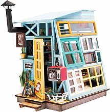DIY Haus Bausatz Basteln Miniatur Puppenhaus