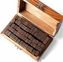 DIY Hochzeit Buchstaben Holz Box Zahlen Alphabet