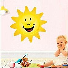 Diy Kinderzimmer Cartoon Wandaufkleber Smiley