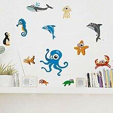 DIY Meerestier Kinderzimmer Dekoration