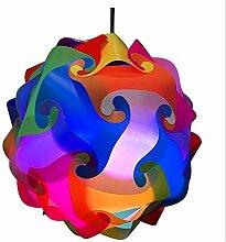 DIY Moderne Kreative Anhänger Ball Roman IQ Lampe