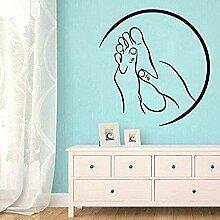DIY Nagel Salon Wandaufkleber Dekorative Aufkleber