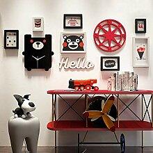 DIY Photo Frame Set, Bilderrahmen Wandkunst
