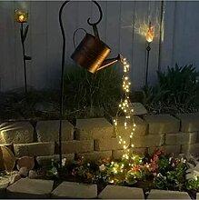 DIY Schmiedeeiserne Sterndusche Garten Kunst