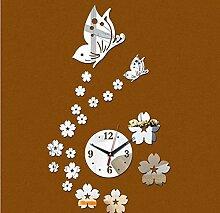 DIY Spiegel Acryl Aufkleber Home Schmetterling