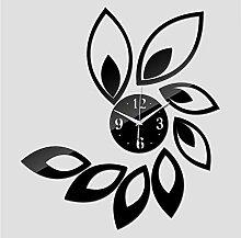 DIY Wandaufkleber Uhr Wohnkultur Wohnzimmer Acryl