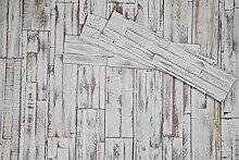 DIY Wandpaneele selbstklebend aus Echtholz von