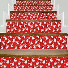 DIY Wasserdichte Aufkleber Entfernen Treppen Korridor Schritte Fashion Decals,A-100*18cm