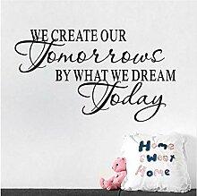 Diy Wir erstellen unsere morgen inspirierende