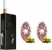 DIY Zigaretten Pops Menthol Mint Karte Burst
