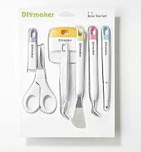 Diymaker Werkzeuge Basis-Set für Cricut