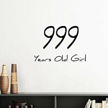 DIYthinker 999 Jahre altes Mädchen Alte