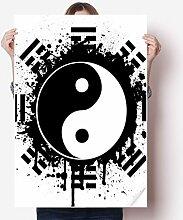 DIYthinker Acht Diagramme Taiji Yin-Yang China