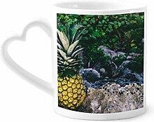 DIYthinker Ananas Blatt Pflanze Bild Natur