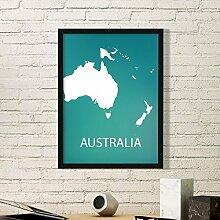DIYthinker Australien Ozeanien Kontinent