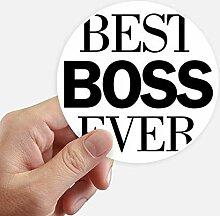 DIYthinker Bester Chef überhaupt Zitat Runde